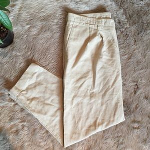 ↟Dockers Men's Light Khaki Linen Pants ↟